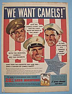 Vintage Ad: 1941 Camel Cigarettes (Image1)