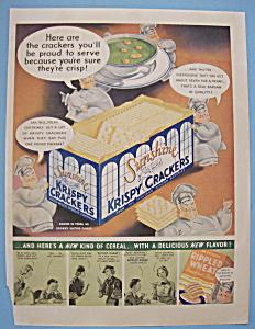 Vintage Ad: 1936 Sunshine Krispy Crackers (Image1)