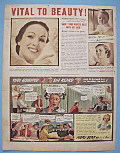Vintage Ad: 1937 Ivory Soap