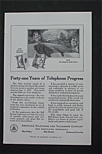 1916 American Telephone & Telegraph Co with Progress (Image1)