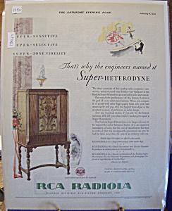 Vintage Ad: 1930 RCA Radiola (Image1)
