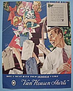 Vintage Ad: 1941 Van Heusen Shirts (Image1)