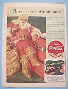 1941 Coca-Cola (Coke) With Santa Claus (Image1)