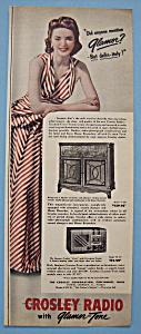 Vintage Ad: 1940 Crosley Radio (Image1)