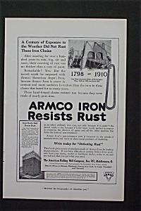 1916 Armco Iron with Armco Iron Resists Rust (Image1)