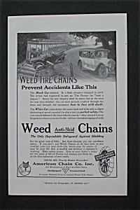 1916 Weed Tire Chains with Tire Chains Prevent Accident (Image1)
