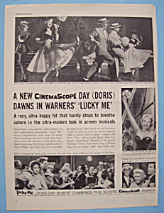 Vintage Ad: 1954 Lucky Me With Doris Day