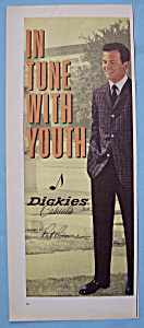 Vintage Ad: 1961 Dickies Casuals with Pat Boone (Image1)