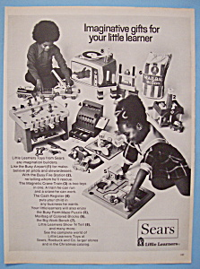 Vintage Ad: 1972 Sears Little Learners Toys (Image1)