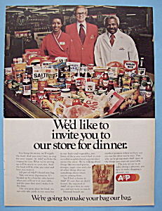 Vintage Ad: 1977 A & P Store