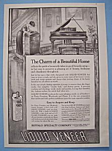 Vintage Ad: 1914 Liquid Veneer (Image1)