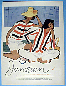 1958 Jantzen Knitted Blazers & Fitted Pants with Women (Image1)