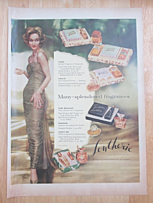 1958 Lentheric Tweed & Miracle with a Lovely Woman  (Image1)