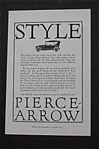 1916 Pierce Arrow Motor Car Company with Pierce Arrow (Image1)