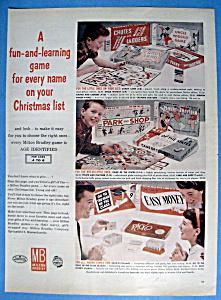 Vintage Ad: 1959 Milton Bradley Board Games (Image1)