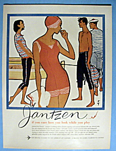1959 Jantzen with People Wearing Seagoing Fashions (Image1)