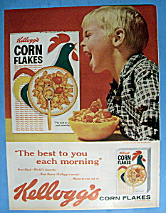 Vintage Ad 1960 Kellogg S Corn Flakes Cereal At Ads By Dee