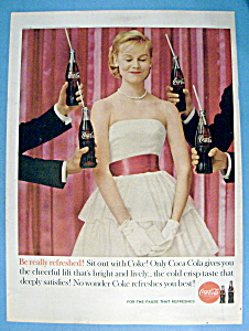 1960 Coca Cola (Coke) with a Woman at a Party (Image1)