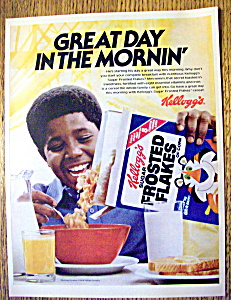 Vintage Ad: 1979 Kellogg's Sugar Frosted Flakes Cereal (Image1)