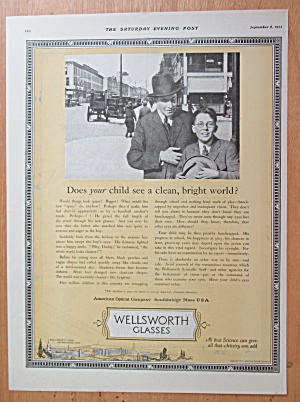 1923 Wellsworth Glasses with Man & Boy with Eye Glasses (Image1)