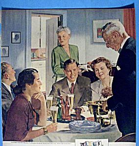 1952 Beer Belongs w/Father's Secret Recipe By Crockwell (Image1)