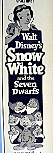 1952 Walt Disney's Snow White & The 7 Dwarfs (Image1)