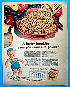 Vintage Ad: 1948 Cheerios (Image1)