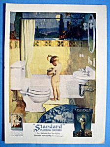 Vintage Ad: 1926 Standard Plumbing By Andrew Loomis (Image1)
