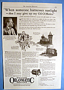 1926 Williams Oil O Matic Heating /James Oliver Curwood (Image1)