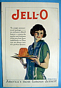 Vintage Ad: 1926 Jell-o