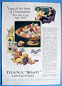Vintage Ad: 1927 Diana Stuft Confections