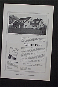 1916 White Pine with House of Joseph Lincoln (Image1)