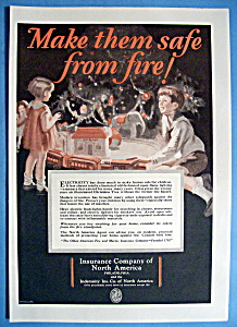Vintage Ad: 1927 Insurance Company Of North America (Image1)