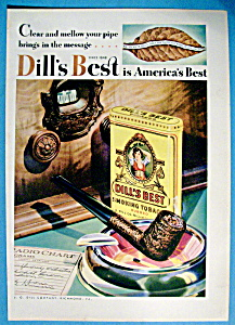 Vintage Ad: 1931 Dill's Best Smoking Tobacco