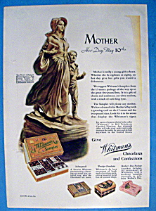 Vintage Ad: 1931 Whitman's Sampler (Image1)