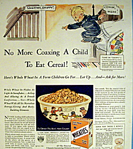 Vintage Ad: 1932 Wheaties Cereal (Image1)