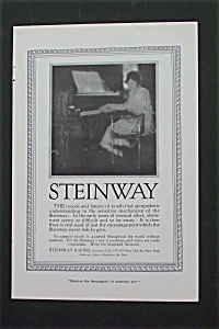 1916 Steinway Piano with Woman at the Piano (Image1)