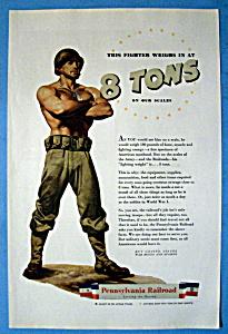 Vintage Ad: 1944 Pennsylvania Railroad (Image1)