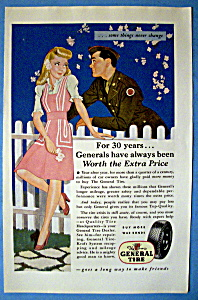 Vintage Ad: 1944 General Tires (Image1)