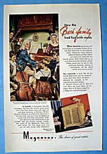 Vintage Ad: 1945 Magnavox Radio Phonograph (Image1)