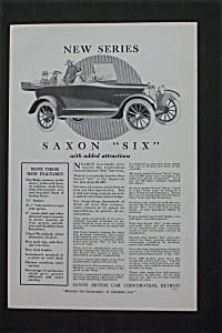 1916 Saxon Six with the Saxon Six Car (Image1)