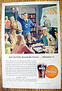 Vintage Ad: 1946 Coca Cola (Coke) (Image1)
