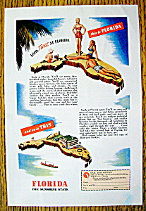 Vintage Ad: 1946 Florida (The Sunshine State) (Image1)