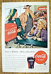 Vintage Ad: 1948 Coca Cola (Coke) (Image1)
