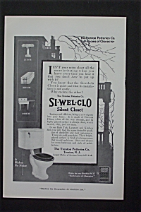 1916 Si Wel Col Silent Closet w/Toilet Makes No Noise (Image1)