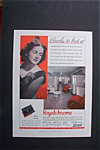 1940 Royalchrome Beauty Furniture with Woman & Shop (Image1)