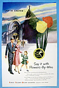1954 Florists' Telegraph Delivery (FTD) w/Joy At Easter (Image1)