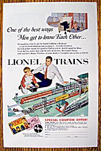 Vintage Ad: 1954 Lionel Trains (Image1)