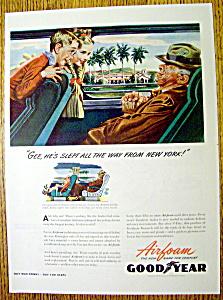 Vintage Ad: 1944 Goodyear Airfoam (Image1)