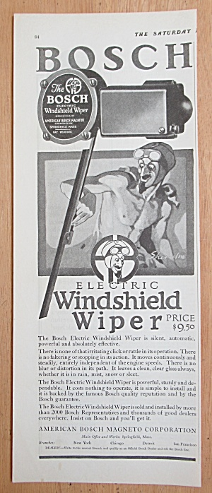 1924 Bosch Electric Windshield Wiper with an Evil Man  (Image1)